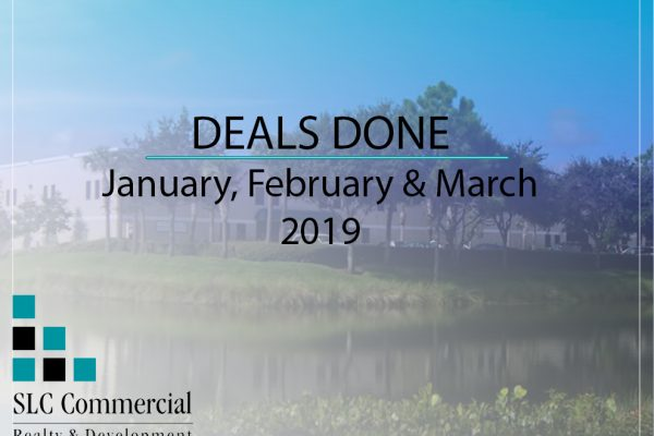 SLC Commercial - Done Deals January to March 2019