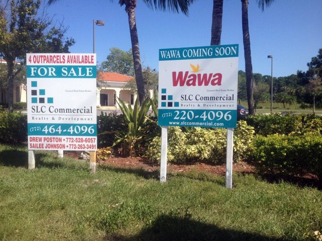 Wawa coming to corner of Kanner Highway and Monterey Road in Stuart