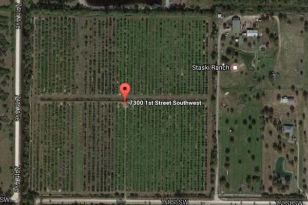 38.13 ACRES 7300 SW 1st Street Vero Beach, Fl